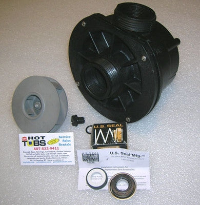 Waterway Center Discharge Spa Pump