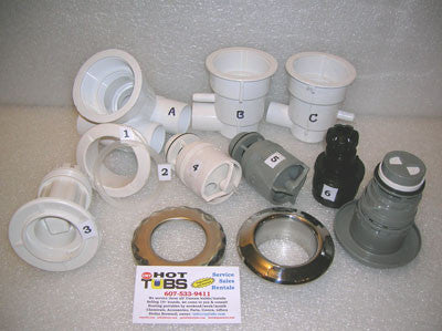 Gasket for Waterway Poly Spa Jets