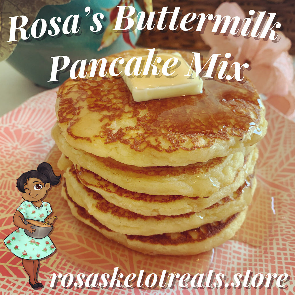Rosa's Buttermilk Pancake Mix - Rosa's Keto Treats
