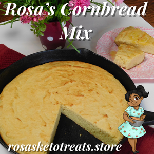 Rosa's Cornbread Mix - Rosa's Keto Treats