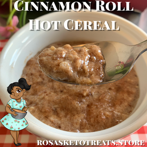 Cinnamon Roll Hot Cereal