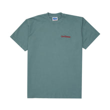 Load image into Gallery viewer, Embroidered Logo Tee - Atlantic Green