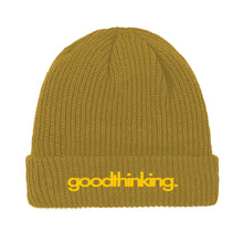 Load image into Gallery viewer, Brown Acrylic Logo Beanie