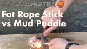 Fat Rope Stick vs. Mud Puddle