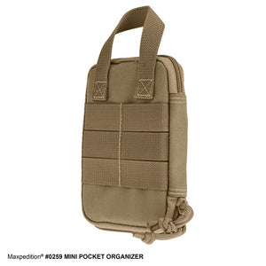 Mini Pocket Organizer - Khaki - Procamptek USA