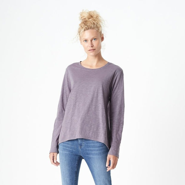 Gayle Long-Sleeve Tee - Anthracite
