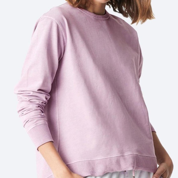 Dylan High-Low Hem Sweat - Lilac