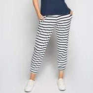 Adrift Jogger Pant French Stripe