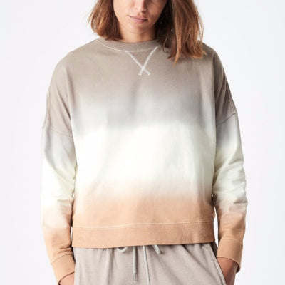 Belle Sweat - Dip Dye Pumice White Caramel