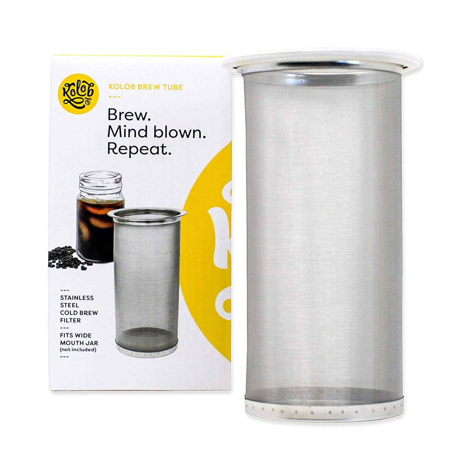 Kolob Brew Tube Cold Brew Coffee Maker