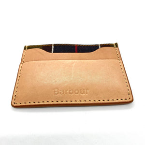 Barbour - Tan Artisan Leather Card Holder