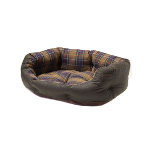 Barbour Dog Bed - Classic Tartan