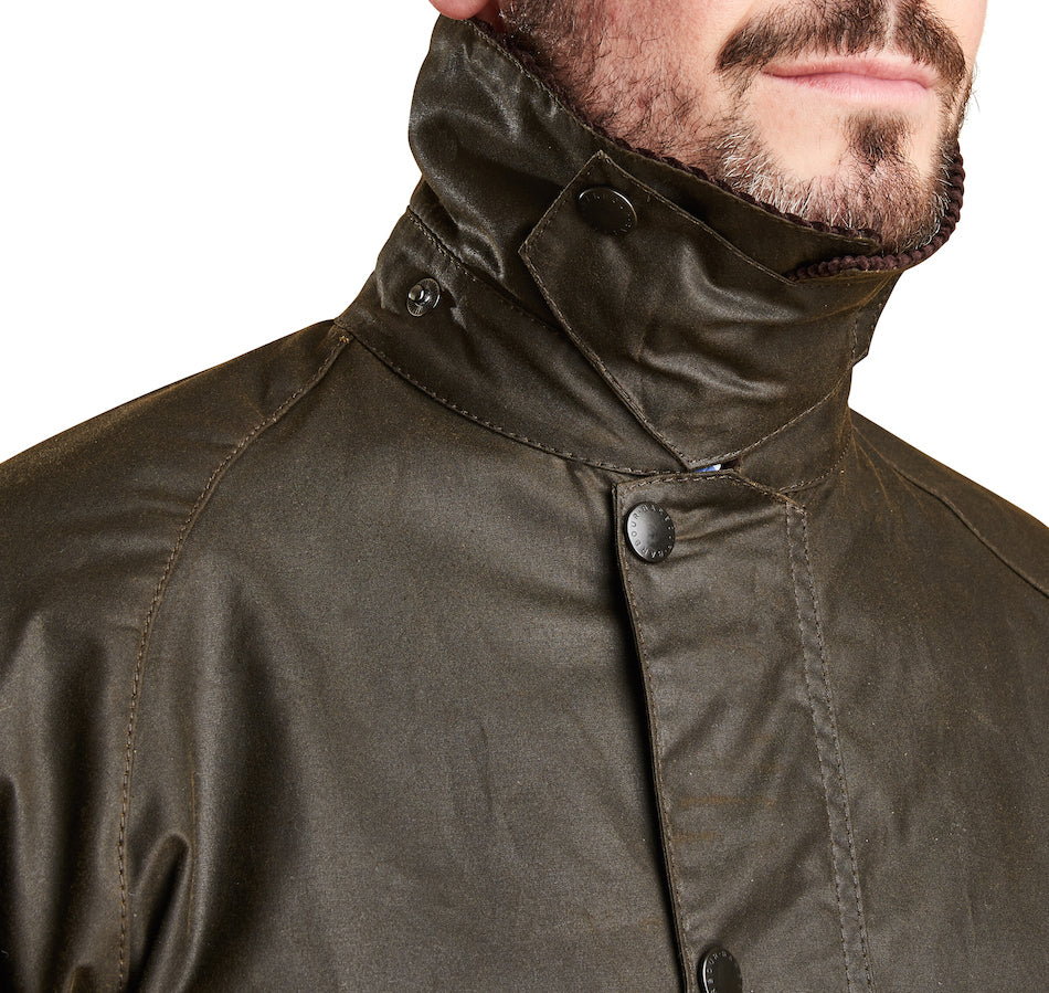 Barbour Men's Classic Bedale Wax Jacket