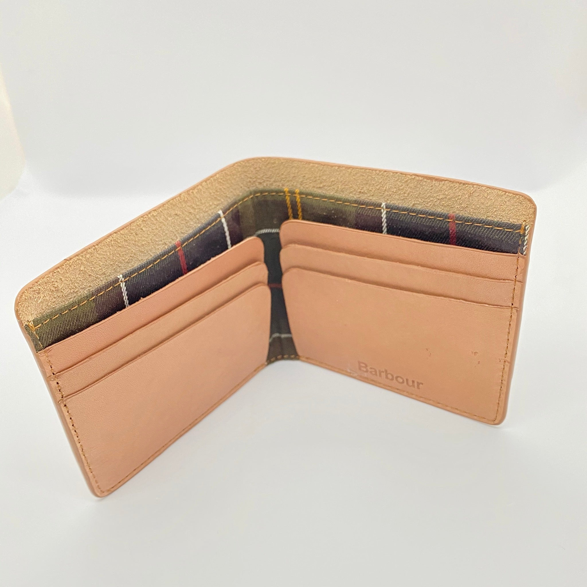 Barbour - Artisan Tan Leather Wallet