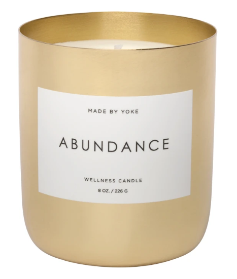 Abundance 8oz Candle - Made By Yoke