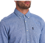 Barbour Linen Mix Tailored Shirt Men's