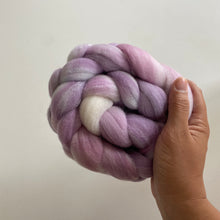 Load image into Gallery viewer, Mini Lilac on Targhee Bamboo Silk
