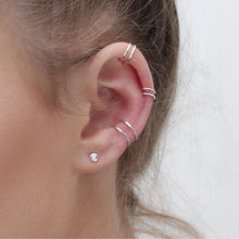 Load image into Gallery viewer, Double Ear Cuff- Faux Piercing