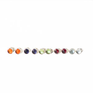 Jelly Tot Gemstone Studs