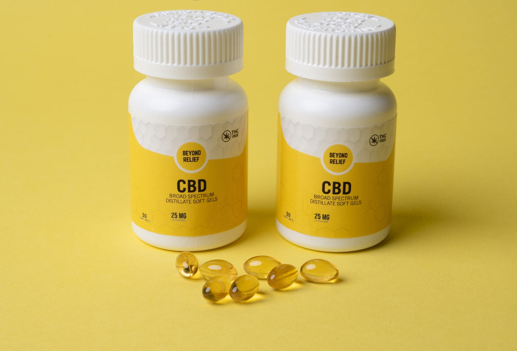 Broad Spectrum CBD - 25mg