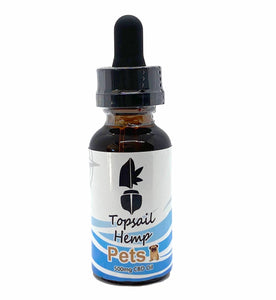 Pets 500mg CBD Oil