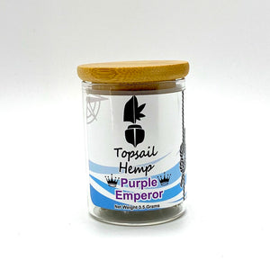 Purple Emperor - Hemp Flower 1/8oz