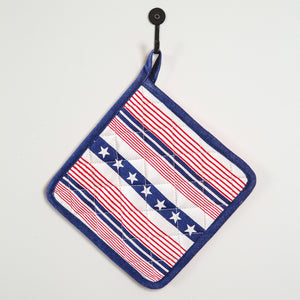 Americana Pot Holder, Set of 4