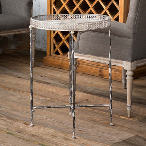 Filigree Serving Table
