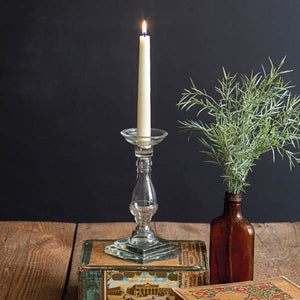 Glass Taper Candle Holder