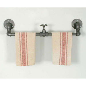 Industrial Towel Rack, Set of 2