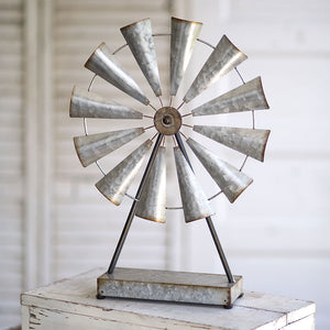 Large Tabletop Windmill