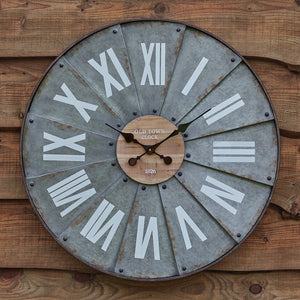 Roman Numeral Windmill Wall Clock