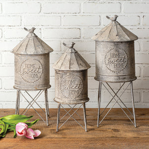 Silo Containers, Set of 3