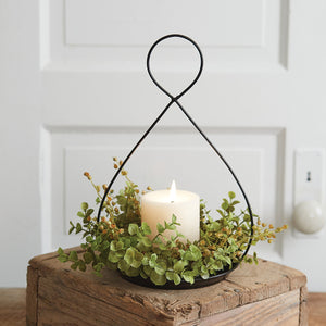 Teardrop Candle Pan