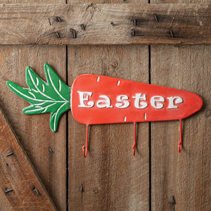 Easter Carrot Hanger Sign