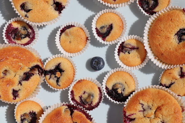 best weed blueberry muffin recipe