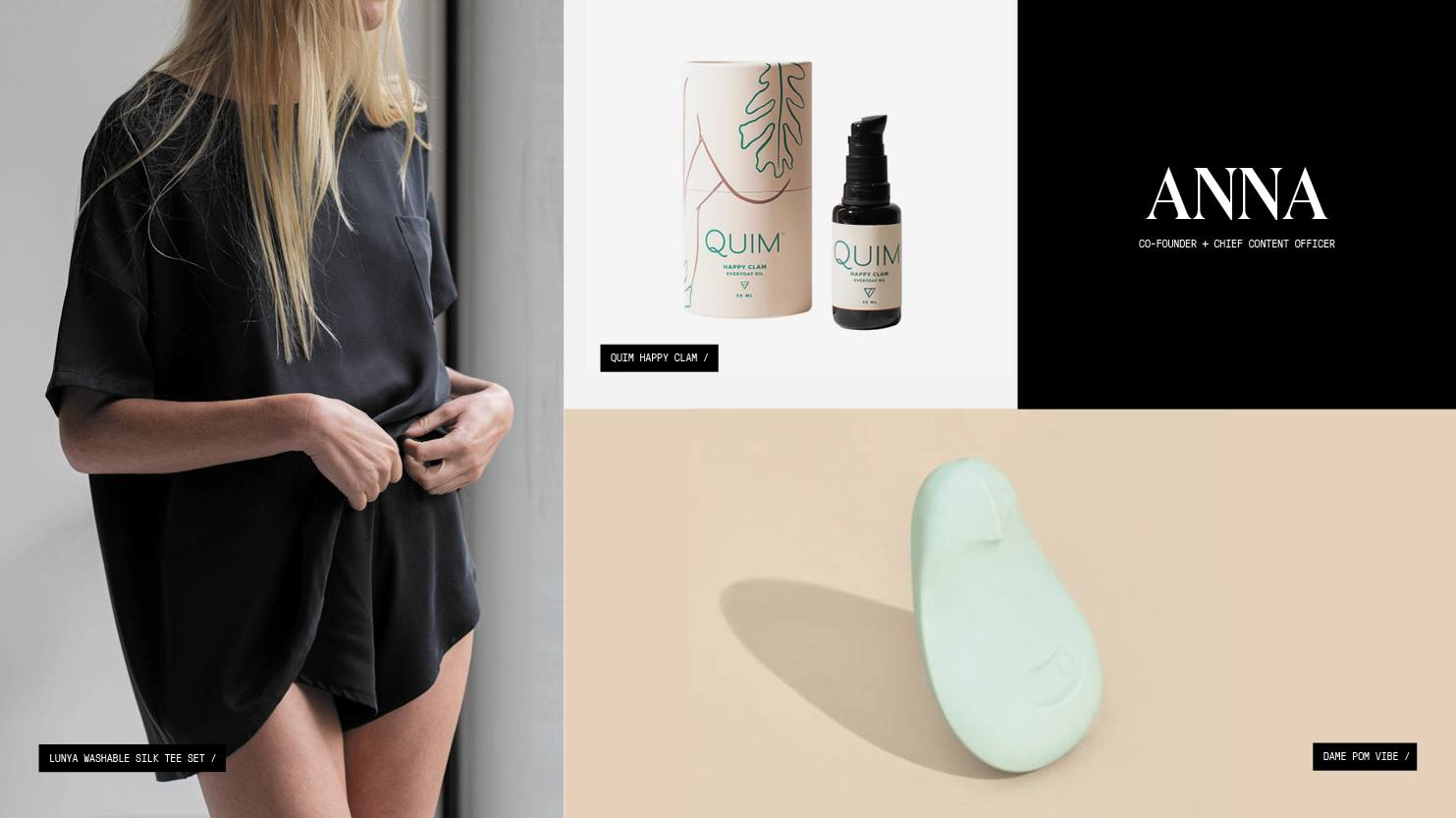A roundup of gift picks including pajamas, body oil, and a vibrator.
