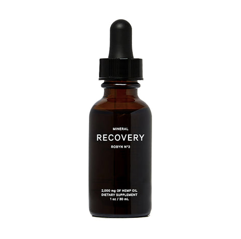 Mineral Recovery CBD Tincture