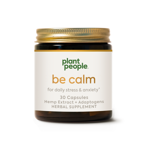Plant People Be Calm CBD Capsules