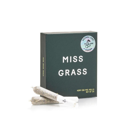 Miss Grass XXX Hemp + Herb Mini Pre-Rolls for Pleasure