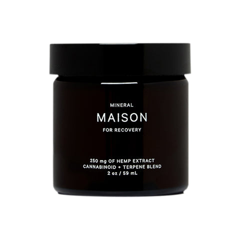 Mineral Maison CBD Balm foro Recovery