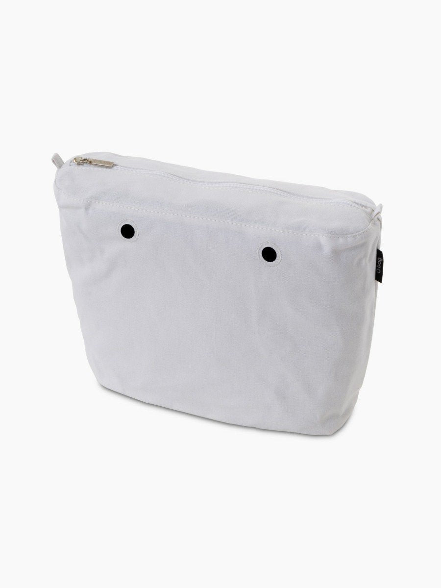 O bag classic inner canvas white