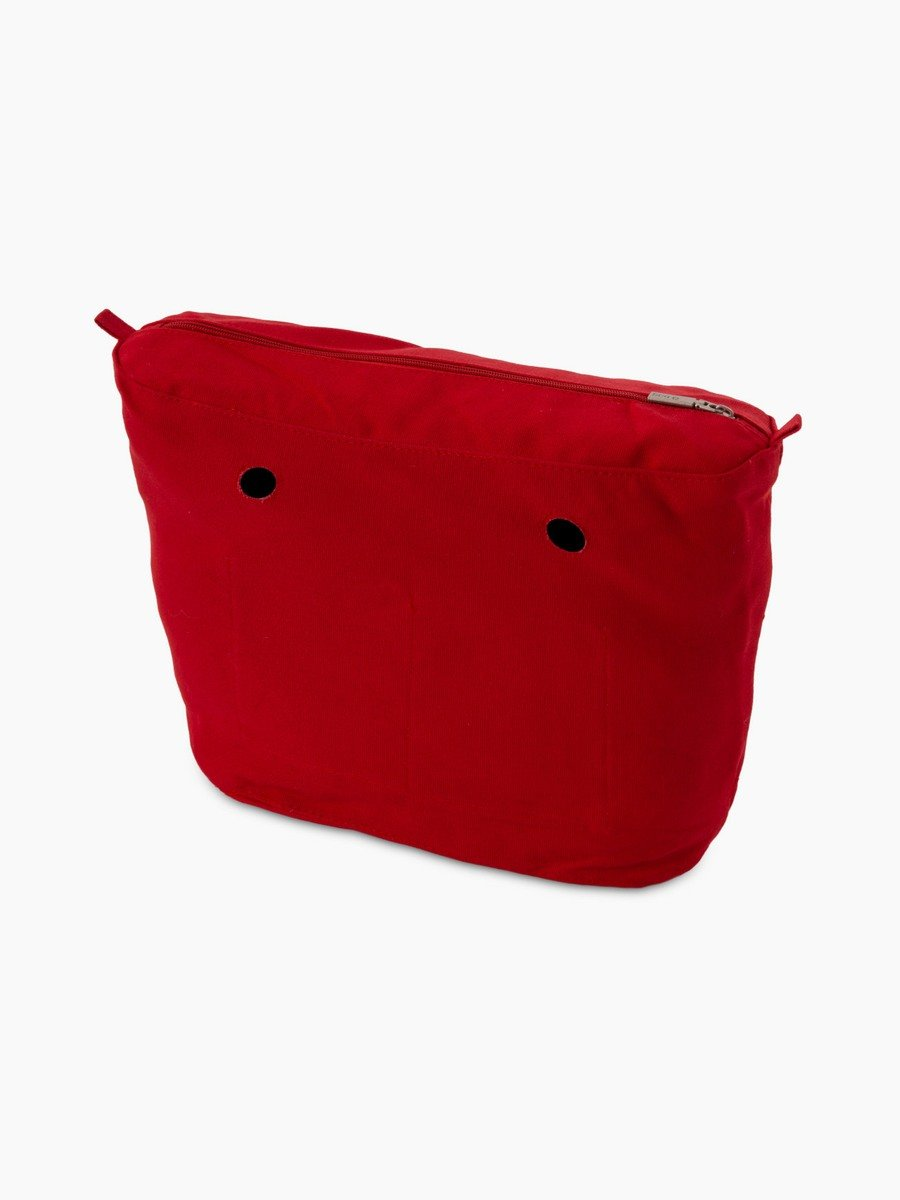 O bag classic inner canvas red