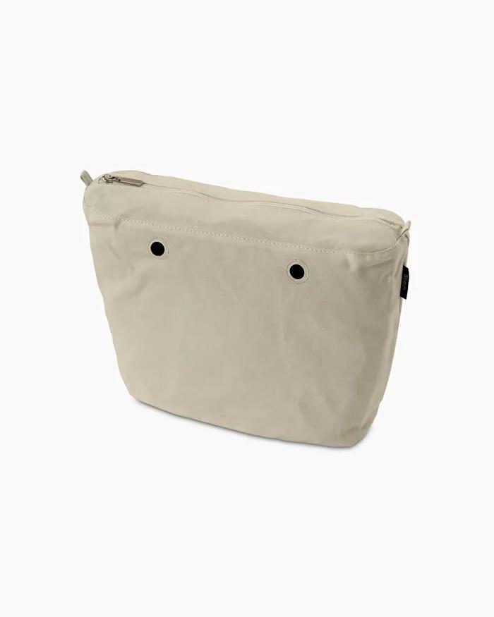 O bag mini inner canvas natural