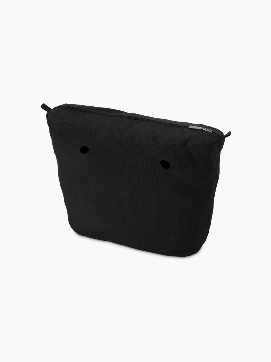 O bag mini inner canvas black