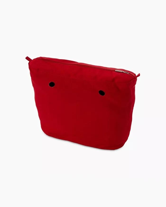 O bag mini inner canvas red