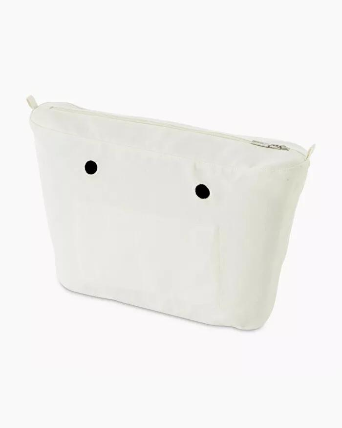 O bag urban canvas inner white