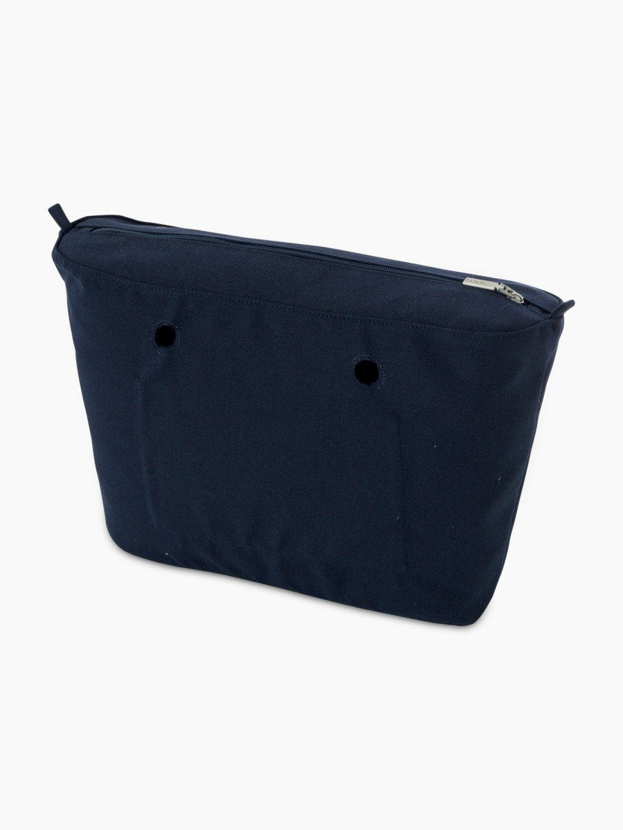 O bag urban canvas inner blue navy