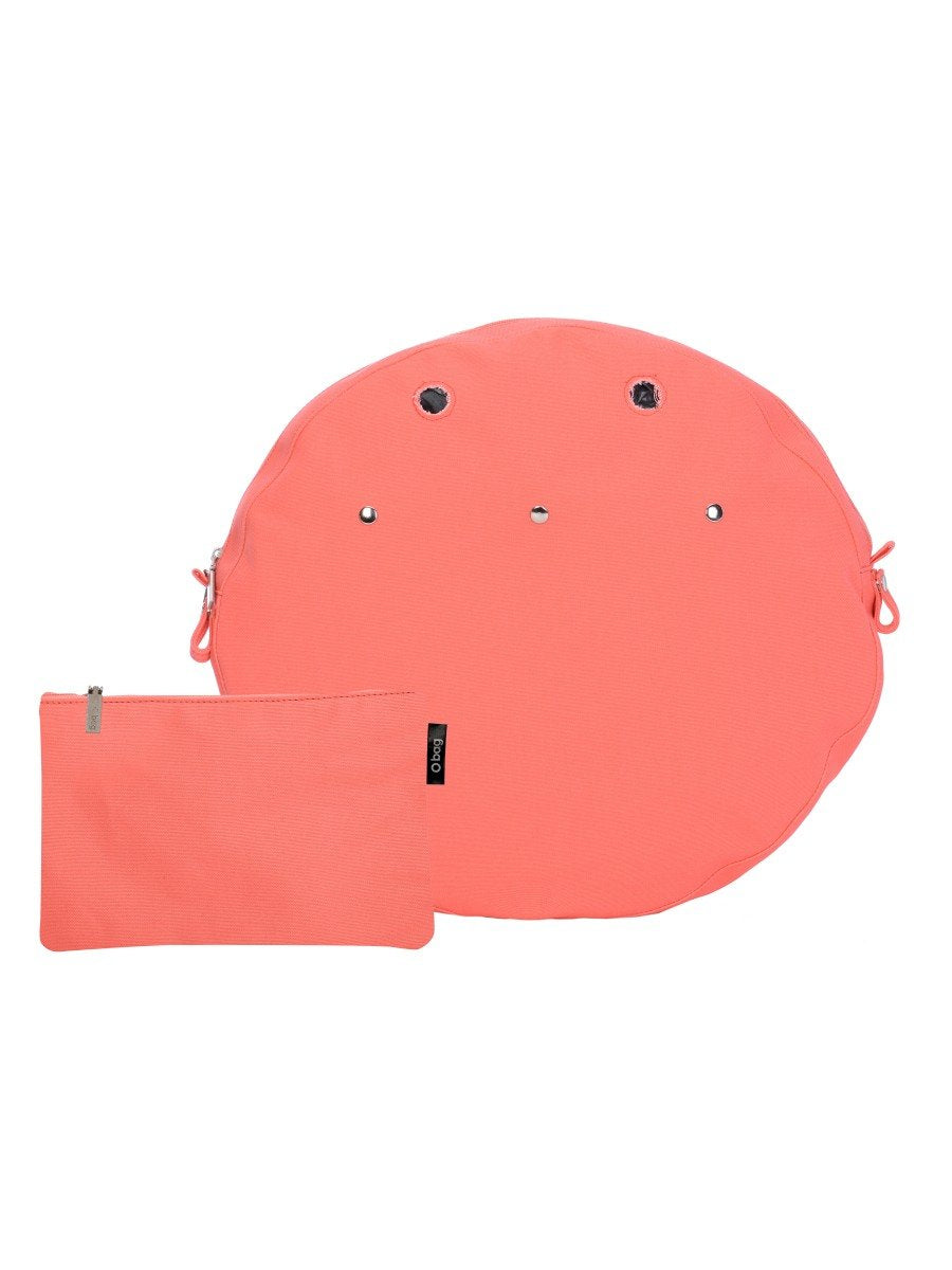 O bag twist mini XL extralight inner canvas coral