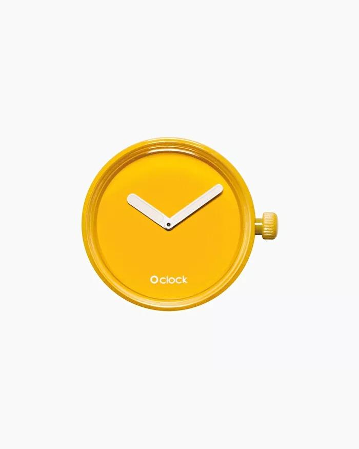 O clock dial tone on tone yellow